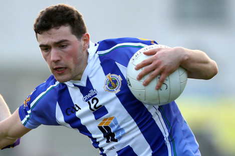 Dublin senior Colm Basquel hit 1-1 for Ballyboden tonight.