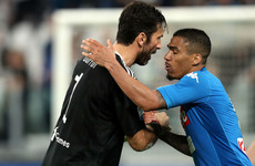 Buffon apologises for snubbing fans after Napoli defeat
