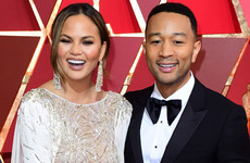 Chrissy Teigen lightened the mood after Kanye tweeted screenshots of his texts with John Legend