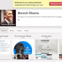 Barack Obama has joined Pinterest (and posted the Obama family chilli recipe)