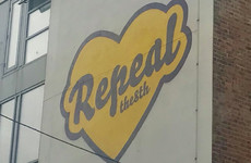 A new Repeal The 8th mural has gone up in Dublin