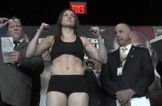 Taylor and foe make weight for world-title unification clash in Brooklyn
