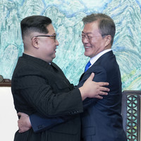 Kim Jong Un 'filled with emotion' after historic peace meeting with South Korea