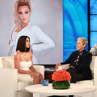 Kim Kardashian told Ellen that Tristan cheating on Khloe while she was pregnant is 'so f**ked up'