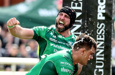 Seven-try Connacht rout Leinster on fitting farewell bash for John Muldoon