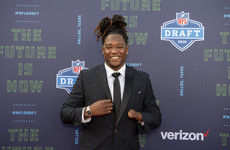 Griffin 'lost for words' after becoming the first one-handed NFL player to be drafted