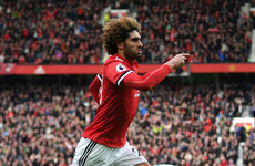 Fellaini the hero in stoppage time after Mkhitaryan returned to haunt United