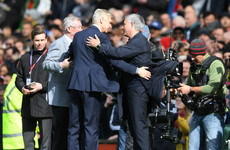 Wenger surprised by Manchester United's 'classy' pre-match presentation