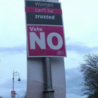 LoveBoth says 'women can't be trusted' campaign poster is fake