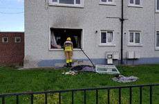 Explosion thought to have caused Dublin apartment fire in which man (50s) was injured
