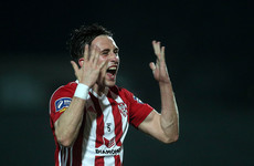 McEneff's double helps Derry City extend unbeaten run to 10 games