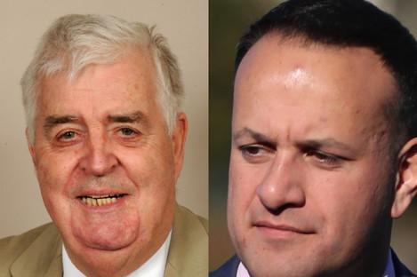 Lord Kilclooney and Taoiseach Leo Varadkar