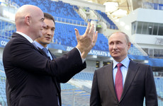Fifa boss thanks Putin, says Russia is 'absolutely ready' to host World Cup