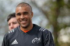 Zebo at fullback for Thomond Park farewell against Edinburgh
