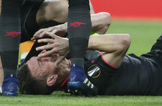 Arsenal's French defender Koscielny ruled out of World Cup