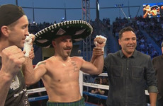 Spike O'Sullivan keeps dream fights alive as he batters overmatched foe in California