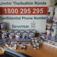 Cannabis, tobacco, cash and a car seized in raids in Dublin, Cork and Galway