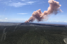 Gas warning and a 'wall of fire' in Hawaii after earthquake causes volcanic eruptions