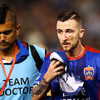 Roy O'Donovan sent off for high boot to keeper's head as Newcastle Jets lose controversial Grand Final
