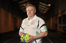 O'Sullivan signs on as advisor for Irish handball team