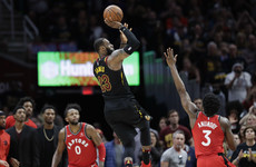 Watch: LeBron James floats in buzzer-beating dagger as Cavs stun Raptors