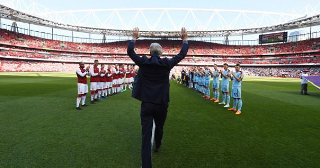 'Merci Arsene' as Arsenal bid farewell to Wenger in final home game