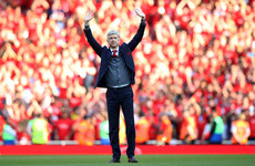 'I will miss you' - Wenger bids emotional farewell to Arsenal fans