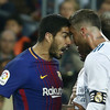 'We know what he's like' - Ramos aims jibe at Suarez after refusing to stop play