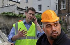Kanye could be appearing on Room To Improve if Dermot Bannon has his way