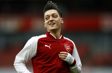 Injured Ozil 'sure' he'll recover in time for World Cup
