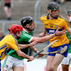 Limerick rain down the goals to begin All-Ireland U21 title defence with heavy win against 14-man Clare