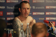 I'll cartwheel naked next year - Snooker champ Williams faces media in the nip