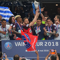 PSG invite losing captain to lift Coupe de France trophy after clinching the treble