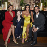 Irish writer and activist Sinéad Burke met her Business of Fashion cover co-star Kim Kardashian last night