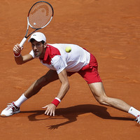 British number one downs Novak Djokovic in shock victory at Madrid Open
