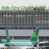 An Aer Lingus flight has returned to Dublin after hitting a hare on take-off