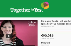 Together for Yes says its donations page was shut down by a cyber attack