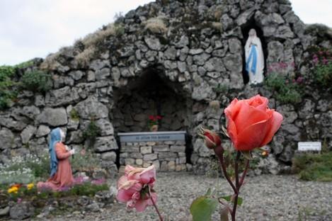 A Catholic shrine in Kilkenny