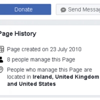 Facebook feature shows official Eighth Amendment campaign pages are being managed by accounts located abroad