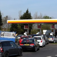 Some UK petrol stations shut after fuel panic-buying