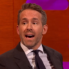 A fan whose wife was being carried away on a stretcher could not resist asking Ryan Reynolds for a high-five