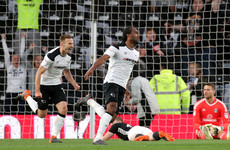 Derby County a step closer to Premier League football with semi-final first-leg win