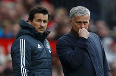 Rui Faria set to depart Man United after 17 years working alongside Mourinho