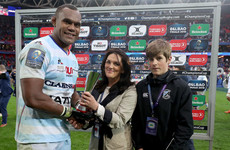 Racing's Nakarawa pips Leinster trio to win European Player of the Year