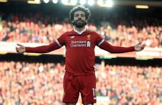 Mo Salah named Premier League player of the season