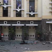 Police say six members of same family responsible for suicide bombings in Indonesia