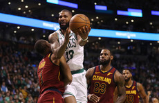LeBron humbled as Celtics secure lead against Cavaliers in NBA playoff series opener