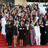 Cate Blanchett led a protest at the Cannes Film Festival to highlight the lack of gender equality at the festival