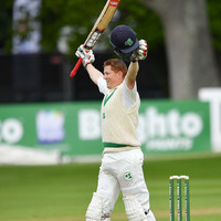 Magical moment as O'Brien makes history with Ireland's first Test century