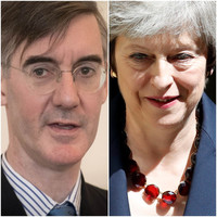 'I would not be as confident as you': May and Brexiteer MP 'in row over who would win a border poll'